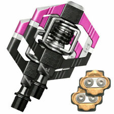 Crank Brothers Candy 7 Bicycle Pedals & Cleats Pink / Black $169 Retail