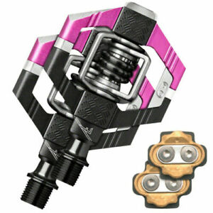 Crank Brothers Candy 7 Bicycle Pedals with Cleats Pink / Black - $169 MSRP