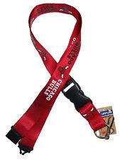 Safety Breakaway Clip LANYARD KEYCHAIN NBA CHICAGO BULLS SOUVENIR Key Ribbon
