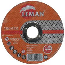 25 Cutting Disc Ø 125 x 1mm Inox Stainless Steel Metal Flex Extra Thin