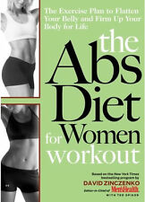 The Abs Diet Workout Plans Protien Lose Weight Healthy Food Thin Low Carb CD DVD