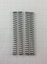 4 x Druckfeder, Länge 65mm, AußenØ 6,8mm, DrahtØ 0,5mm
