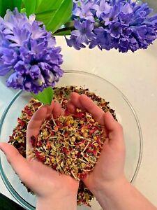 *Beauty Steam* Face Bath Herbal Flowers Unique Steamer Mix Skin Detox Botanical