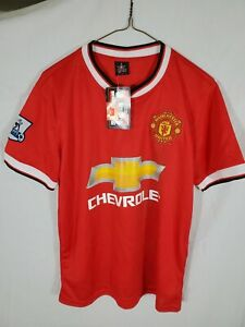 new w/ tags 2016-17 Manchester Man United HOME EPL Shirt kit small S