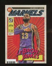 2019-20 Donruss Net Marvels LeBron James Los Angeles Lakers