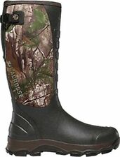 """LaCrosse 376103 Men's 4X Alpha 16"""" 7.0MM Boot Realtree Xtra Size 10"""