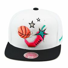 Mitchell & Ness NBA All Star Juego '96 Gorra Snapback Blanco / Negro/Rosa