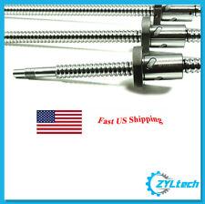 ZYLtech Precision (TRUE C7) 16mm 1605 Antibacklash Ball Screw w/ Ballnut - 450mm