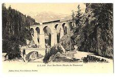 CPA 74 Haute-Savoie Chamonix Pont Sainte-Marie Route de Chamonix