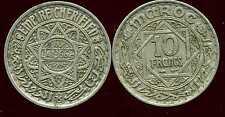 MAROC 10 francs 1366   ( bis )