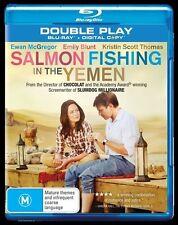 Salmon Fishing In The Yemen (Blu-ray, 2012, 2-Disc Set) (D135)