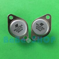 5pcs 2N3773 3773 + Insulating pad 16A 140V High Power NPN Transistors TO-3 ST