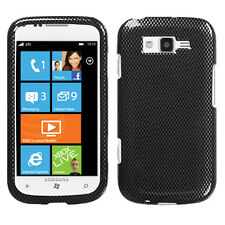 For Samsung Focus 2 i667 HARD Protector Case Snap on Phone Cover Carbon Fiber
