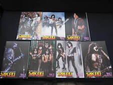 KISS SAKEBI Vol. 1 - 7 Japan Fanzine Book in 2008-2009 Lot