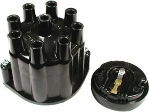 For 1968 Jeep J2800 Distributor Cap and Rotor Kit Accel 66357JS Distributor Cap