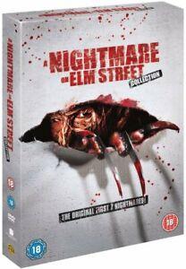 NIGHTMARE ON ELM STREET ORIGINAL MOVIE COLLECTION 1-7 DVD BOX SET 8 DISC R4 NEW