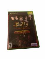 Buffy the Vampire Slayer: Chaos Bleeds (Xbox 2003) FACTORY SEALED! - RARE!