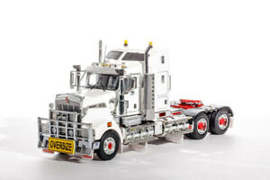 Kenworth T909 Prime Mover Truck - White/Red - Drake 1:50 Scale #Z01365B New!