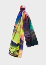 NWT $250 Paul Smith photo collage scarf. Buy now/make offer.