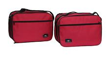 Bmw R1200gs Vario Alforja Forro Bolsas Ampliable En Color Rojo