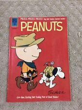 VINTAGE  Comic book ~Dell ~PEANUTS #10 ~1961 ~Charlie Brown ~Snoopy-LOOK-36
