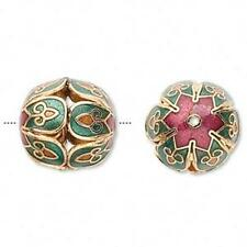 4378 Bead Cloisonne 16mm per bead *UK EBAY SHOP*