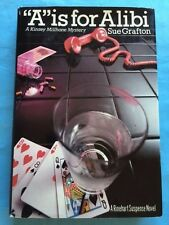 """A"" IS FOR ALIBI - FIRST EDITION SIGNED BY SUE GRAFTON"