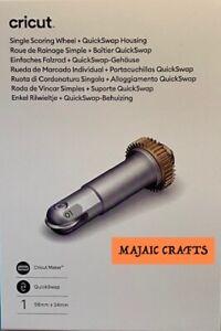 Cricut Maker ~Single Scoring Wheel & QuickSwap Housing   2007446~ NEW ~ In stock