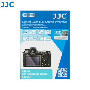 JJC 9H 0.3mm Optical Tempered Glass Screen Protector for Panasonic Lumix S1 S1R