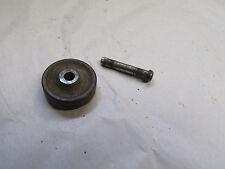 Vintage SINGER Treadle Sewing Machine Caster Wheel & Pin Original Antique CAST
