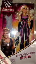 WWE Superstar Fashions Doll Natalya Mattel BRAND NEW Divas Women Barbie