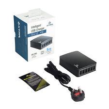 Xtar 6 Port USB 5V Charging Hub Charger 45W 9A iPhone iPad Tablet 2.4A U1 Six-U