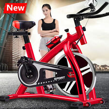 New Bicycle Cycling Fitness Gym Exercise Stationary Bike Cardio Home Indoor Red!