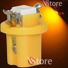 2 LED Per Cruscotto Quadro Strumenti T5 B8.5D SMD Giallo Lampade Luci Lampadine