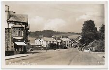 P.C View Down Main Road Windermere Cumbria Westmorland R P Excellent Condition