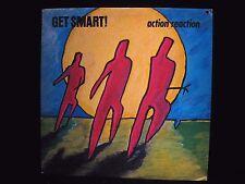 Get Smart! Action Reaction Fever Records E1118 Vinyl LP