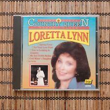 LORETTA LYNN - COUNTRY QUEEN -  CD
