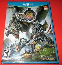 Monster Hunter 3 Ultimate Wii U -  Factory Sealed!! Free Shipping!!