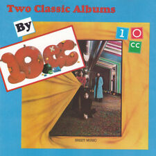 10cc : Two Classic Albums - 10cc & Sheet Music (CD 1990) *NEW* FREEUK24-HRPOST!!