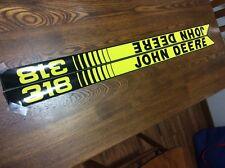 John Deere New 318 Hood Decals