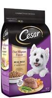 CESAR Small Breed Dog Food Filet Mignon Real Beef Spring Vegetables Garnish 5 Lb
