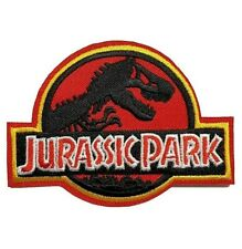 1 Écusson Brodé Thermocollant NEUF ( Patch Embroidered ) - Jurassic Park