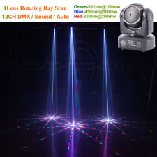 Mini 1 Head RGB Gobos Shark Moving Laser Light DMX Home Xmas Party Stage Light