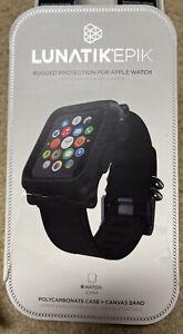 LUNATIK EPIK Polycarbonate Case And Canvas Strap For Apple Watch Series 1 42MM