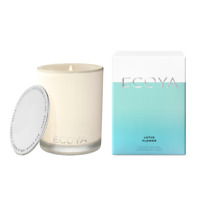 Ecoya-Lotus Flower Soy Wax Fragranced Candle 400g