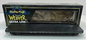 Weaver U4705D O Baltimore & Ohio 50' Flat Car #8903 [3Rail] NIB