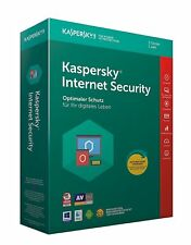 Kaspersky Internet Security 2018 3 PC (Geräte) 1 Jahr | Sofortversand per Email