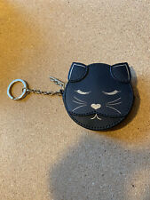 Ted Baker Leather Tabbiee Cat Coin Keyring Purse.