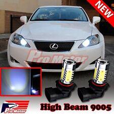 2 x 9005 HB3 Cool White 6000K CREE COB LED Headlight Bulbs DRL High Beam 9410