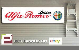 Alfa Romeo Spider Banner for Workshop, Garage, Office etc,